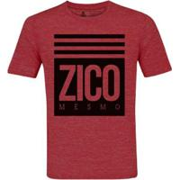 Camiseta Zé Carretilha Flamengo Zico Mesmo Masculino - Masculino