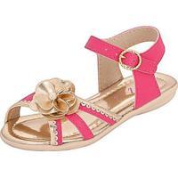 Sandália Bebê Plis Calçados Ternura Feminina - Feminino-Pink