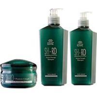 Kit De Tratamento Capilar Nutra Therapy - Shampoo 480Ml + Condicionador 480Ml + Creme 150Ml