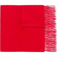 N.Peal Cachecol De Cashmere - Vermelho