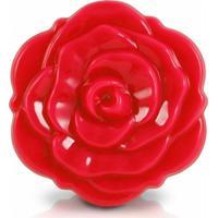 Espelho De Bolsa Flor Jacki Design Espelhos Vermelho