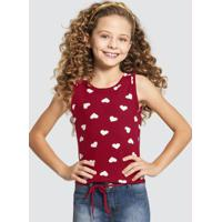 Blusa Malha Cotton Soft Vermelho