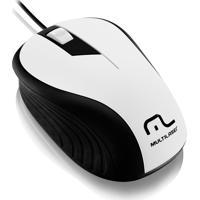 Mouse Óptico Emborrachado Usb 1200Dpi Mo224 Multilaser