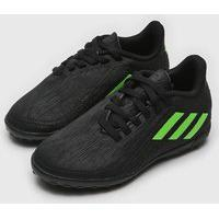 Chuteira Adidas Infantil Deportivo Society Jr Preto