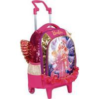 Mochilete Média Barbie Dreamtopia Infantil Sestini - Feminino-Rosa