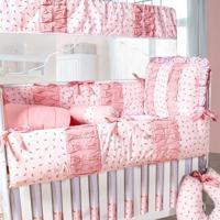 Kit Berço Padroeira Baby Delicate Rosa