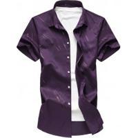 Camisa Social Murray - Roxa