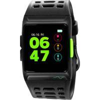 Monitor Cardíaco Com Gps Aspire Easy Mobile - Preto/Amarelo