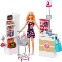 Barbie Supermercado De Luxo - Mattel - Kanui