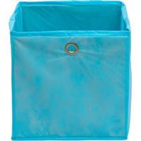 Caixa Organizadora Infantil Dobrável - Azul Claro
