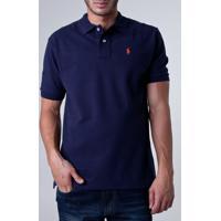 84db22868e0cc Camisa Polo Ralph Lauren Wicket Azul