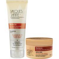 Kit De Shampoo & Máscara Nutrição- Jacques Janinejacques Janine