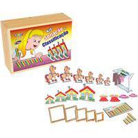 Brinquedo Educativo Kit Seriação E Classificação Carlu Com 5 Jogos