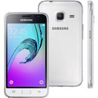 Smartphone Samsung Galaxy J1 J105M Mini - Dual Chip - 4G - 5 Mp - Android 5.1 - Branco