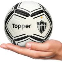 Minibola De Futebol De Campo Do Atlético-Mg Topper - Branco Preto c2aa310d1e36e