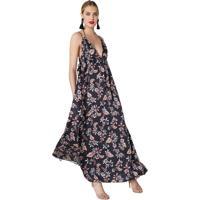 Vestido Coral Longo - MuccaShop e67b144ee74