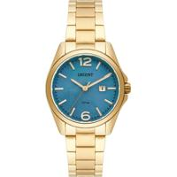 Relógio Orient Feminino Pulseira Dourada-Fgss1143.G2Kx