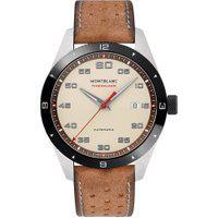 Relógio Montblanc Masculino Couro Marrom - 118494