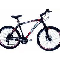 Bicicleta Mtb Ecos Aro 29 21Marcha Freio A Disco Kit Shimano 7Vel - Unissex