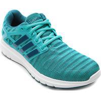 b55f4a2512e ... Tênis Adidas Energy Cloud Feminino - Feminino-Azul Claro+Branco