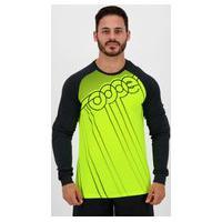 Camisa Topper Player Classic Goleiro Manga Longa Verde