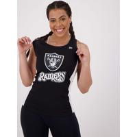 Regata New Era Nfl Oakland Raiders Feminina