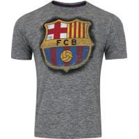 Camiseta Barcelona Dieguito - Masculina - Cinza Escuro
