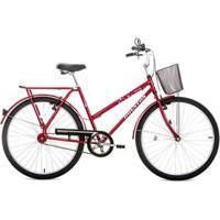 Bicicleta Houston Utilitária Onix Vb Aro 26 C/ Cesta - Unissex