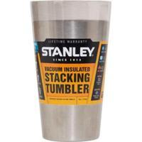 Copo De Cerveja Térmico Sem Tampa Adventure Stainless Steel 473Ml - Stanley - Unissex