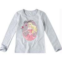 Blusa Cinza Princess Aurora