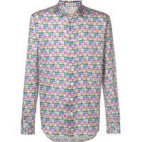 Etro Camisa Xadrez - Rosa