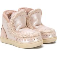 Mou Kids Ankle Boot Eskimo - Rosa