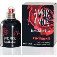Amor Amor Forbidden Kiss De Cacharel Eau De Toilette Feminino 50 Ml