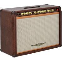 Amplificador P/ Guitarra Oneal Ocg-1202-Mr C/ Bluetooth Usb Fm 220W Marrom
