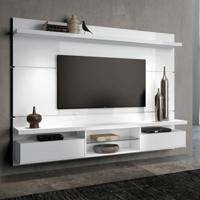 Painel Para Tv 60 Polegadas Livin Branco Brilho 220 Cm