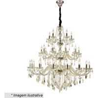 Lustre Maria Thereza- Cristal & Champanhe- 135Xø130Chevvy