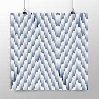 Placa Decorativa - 3D Mountains