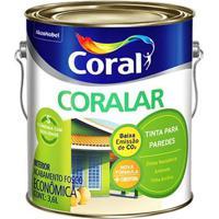 Tinta Acrílica Fosca Coralar Cromo Suave 3,6L - Coral - Coral
