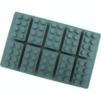 Forma De Silicone Para Gelatina, Gelo, Chocolate - Bloco De Montar
