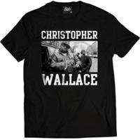 Camisa Skull Clothing Christopher Wallace Masculina - Masculino-Preto