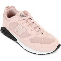 Tênis New Balance X-Racer Feminino - Feminino-Rosa+Branco