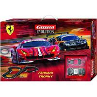 Pista De Percurso E Veículos - Carrera - Ferrari Dtm - California Toys