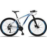 Bicicleta Dropp Aluminum 27V Aro 29 Freio Hidráulico Câmbio Traseiro Shimano Acera Suspensão Trava - Unissex