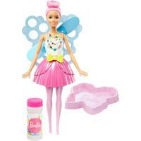 Boneca Articulada Barbie Dreamtopia Fada Das Bolhas Mágicas