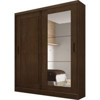 Guarda-Roupa Solteiro Com Espelho Naia 2Pt 3 Gv