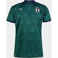 Camisa Seleção Itália Third 19/20 S/Nº Torcedor Puma Masculina - Unissex