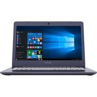 "Notebook Sony Vaio Vjc141F11X - Prata - Intel Core I3-6006U - Ram 4Gb - Hd 1Tb - Tela 14"" - Windows 10"