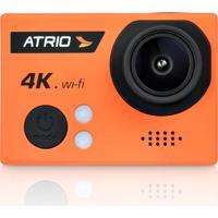 Câmera De Ação Atrio Fullsport Cam 4K, 16.0 Mega Pixels, Tela De Lcd 2.0, Lente Angular De 160º, Zoom Digital, Case A Prova De Água - Dc185