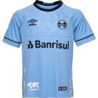 c84731bcba0e5 Camisa Juvenil Oficial Umbro Grêmio Charrua 2018