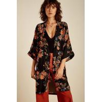 Kimono Buque Floral Est Buque Floral